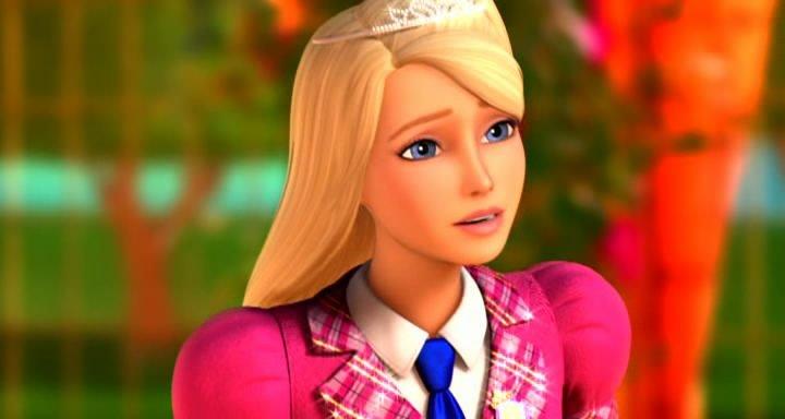 Скачать мультфильм Барби: Академия принцесс через торрент ...